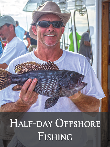 Outer Banks Half-day Offshore Fishing