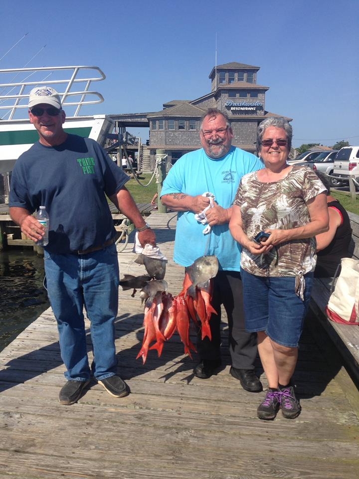 Offshore Outer Banks Party Boat Fishing