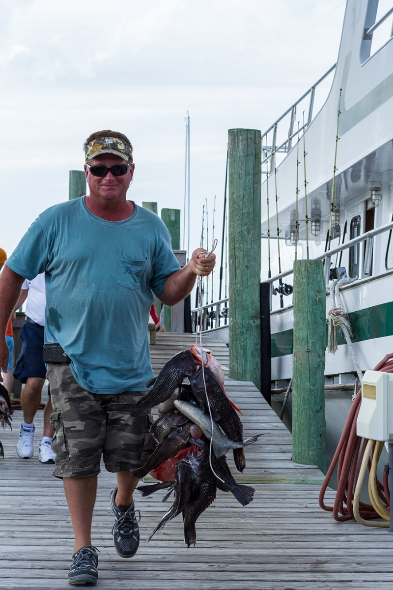 Offshore Outer Banks Head Boat Fishing
