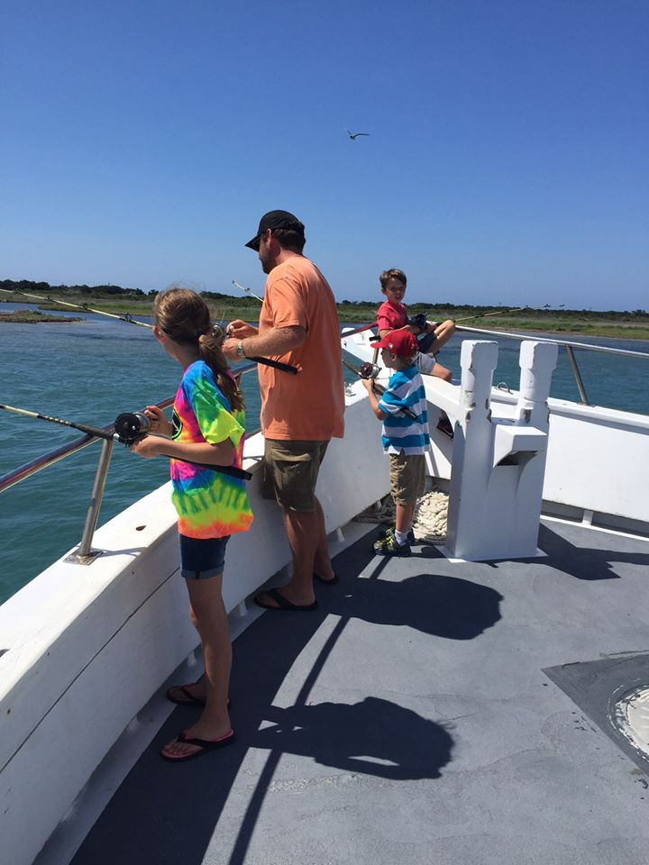 Outer Banks Party Boat Fishing on the Pamlico Sound