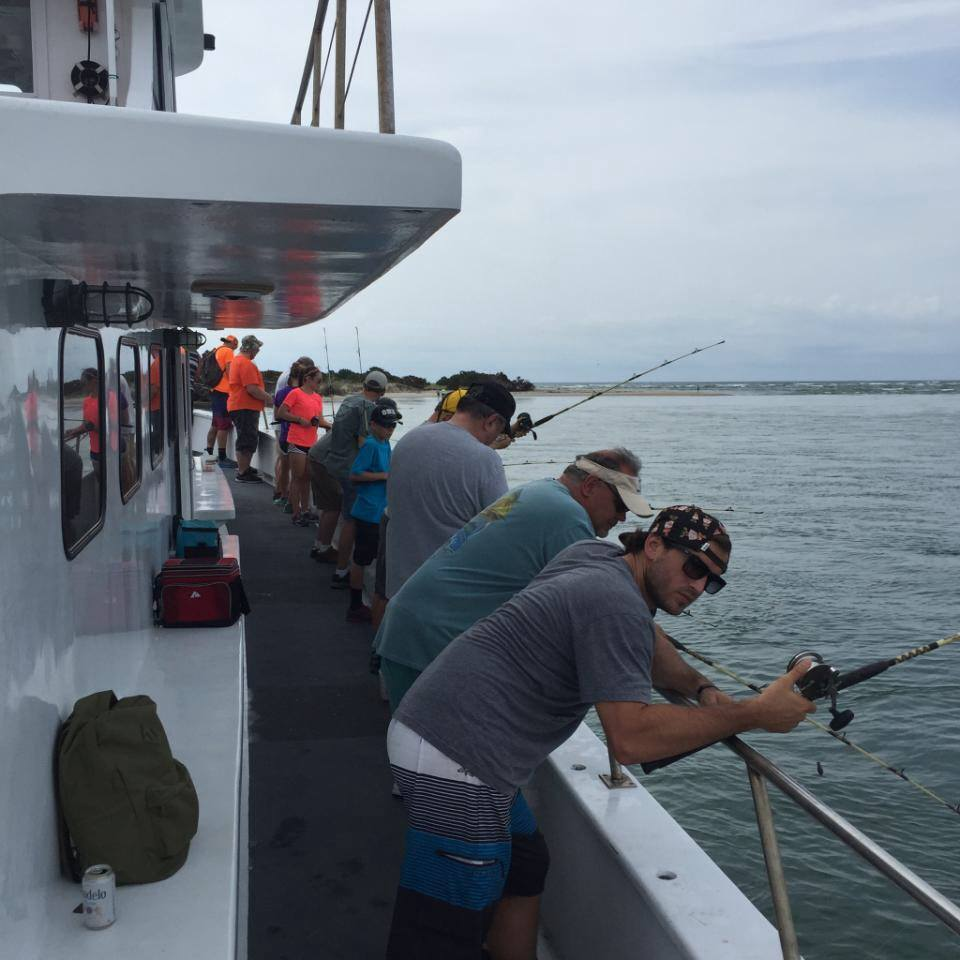 half day inshore fishing on the pamlico sound aboard the